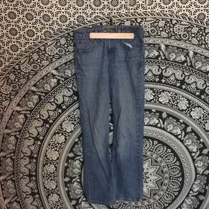 Levi Strauss Mid Rise Boot Cut Jeans